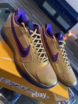 Nike Undefeated Kobe Protro 5 Hall Of Fame HOF DA6809-700 Size 12