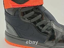 Nike Women's Air Jordan 1 Nova XX High Top Black Crimson AV4052-006 Size 8