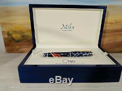 OMAS Miku Enamel & Sterling Silver 925 Limited Edition Fountain Pen