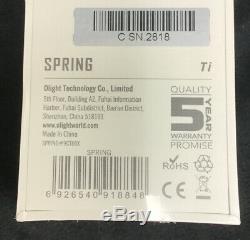 Olight S1R II titanium Spring Limited Edition flashlight Sealed Brand new