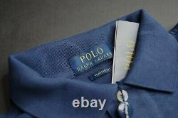 POLO RALPH LAUREN Men's Classic Fit Jumping Horse Show Graphic Polo Shirt NEW