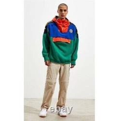 POLO RALPH LAUREN Sportsman Polar Fleece Anorak Hoodie Jacket Mens size M NWT