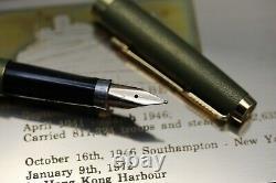 Parker 75 RMS Queen Elizabeth Limited Edition Fountain Pen UNUSED