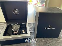 Pre-owned Grand SEIKO SBGA229 Sports Collection Spring Drive Black