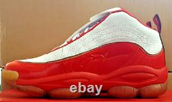 Reebok Allen Iverson Legacy Men's Basketball Shoes White Red Casual New CN8406