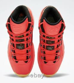 Reebok Question Mid'hot Ones' Mens Basketball Sneakers (gv7093) All Sizes