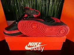 SAMPLE Nike Air Jordan Retro 14 XIV Air force 1 Fusion Bread Black Red Size 11.5