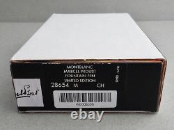 SEALED MONTBLANC Writers Limited Edition Marcel Proust #08365/21000 M Year 1999