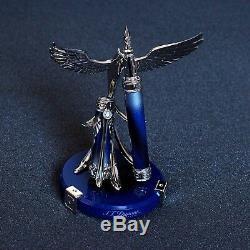 ST Dupont Phoenix Renaissance Limited Edition 10 Diamond & Blue Fountain Pen Kit