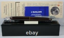 Sailor Limited Edition King Of Pens Tamenuri Midoridame Fountain Pen Spectacular