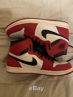 Size 11.5 Nike Air Jordan 1 Retro DMP Chicago Sneakers