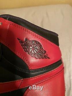 Size 12 Nike Air Jordan 1 Retro DMP Bred Sneakers