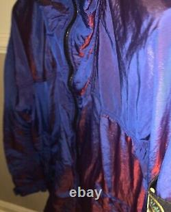 Stone Island Nylon Metal Watro Red Weft Jacket XL
