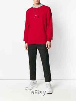 The Helmut Lang Men's Taxi Hoodie -Hong Kong limited edition sweatshirt Red S