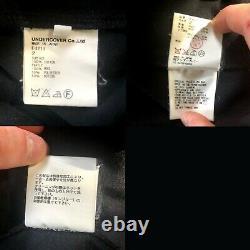 Undercover SS10 Less but Better Denim Work Jacket Sz 2/m Black Jun Takahashi