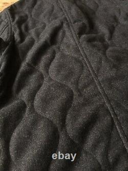 Universal Works Bakers Jacket Insulated Wool S Grey Chore Worker