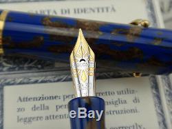 VISCONTI RMS Titanic Limited Edition Fountain Pen #1142/1912 M Nib 18k 750