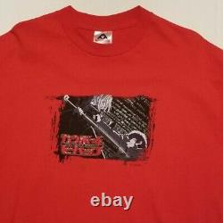 Vintage Cowboy Bebop Mens Anime T Shirt Red XL Spike Vicious Rare Sunrise Akira