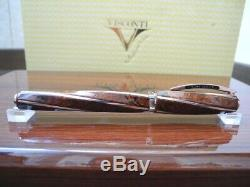 Visconti Divina Proporzione Burlwood 1618 Limited Edition 18k Gold Fountain Pen