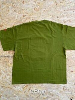 Vtg 90s Nike Air Jordan Michael Jordan T-Shirt Single Stitch Sz L Gray Tag USA