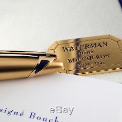 Waterman Edson Boucheron Limited Edition Fountain Pen #301/3741