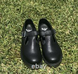 Womens Dr. Martens Polley PW Mary Jane Shoes Virginia Leather, Size US 9/ UK 7