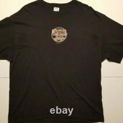 Yu Gi Oh Vintage Anime Mens Shirt Black Hobby League Champ TCG XL Akira 1996