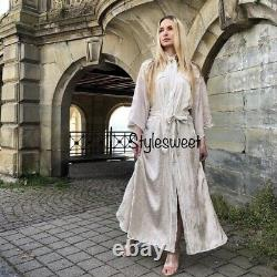 Zara Ss20 Limited Edition Long Contrasting Kimono Beige Size S Bnwt Bloggers Fav